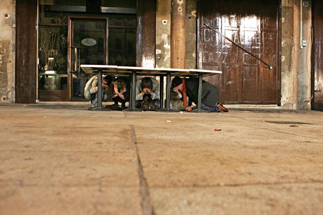 schlechte verstecke / verona 2005 / foto: nils hendrik mueller