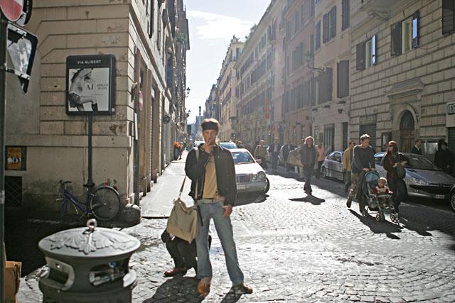 schlechte verstecke / rom 2005 / foto: nils hendrik mueller