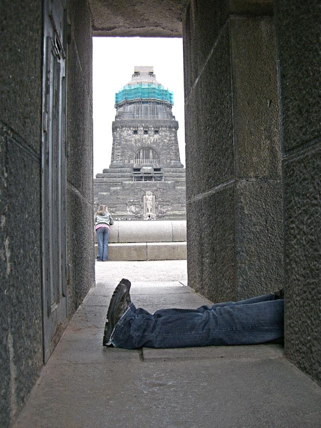 schlechte verstecke / leipzig 2006 / foto: nils hendrik mueller
